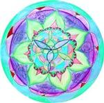Cyan Mandala
