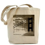 SF Bay Green Grocery Tote Bags
