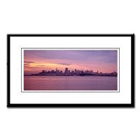 Panoramic San Francisco Bay Framed Photographs