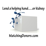 Lend a Helping Hand....or kidney