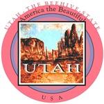 UTAH - Arches Painting Art