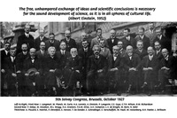 Famous Scientists: 5th Solvay Conference 1927
