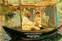 French Impressionism Manet: Painting, Work to Feel