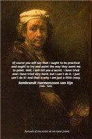 Rembrandt Harmenszoon van Rijn Self Portrait
