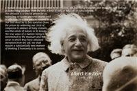 Albert Einstein: Human & Universe