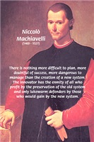 Realist Political Theory: Philosopher Machiavelli