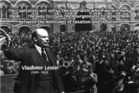 Vladimir Lenin: Taxation, Inflation and Revolution