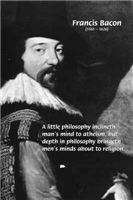 Philosophy Atheism Religion: Francis Bacon