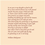 Sonnet number 75 by Shakespeare