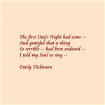 The First Day's Night