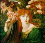 Ghirlandata by Rossetti