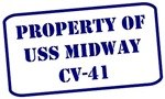 Property of USS Midway, CV-41
