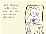 Cried Naked In Someone Else's Bed