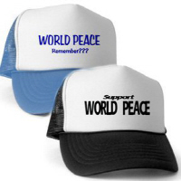 Black and Blue Trucker Hats