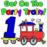 Party Train One Year Old