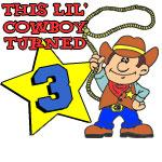 Little Cowboy Turned Three