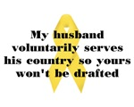My husband voluntarily...