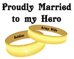 Proudly Married to My Hero