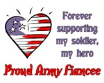 Forever supporting - Army fiancee
