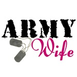 Army Wife (hot pink)