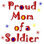 Proud Mom Colorful Items