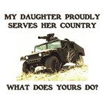 My Daughter Proudly Serves