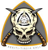 Pekiti-Tirsia Skull Logo