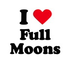 I love full moons