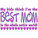 Best Mom from Kids