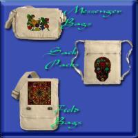Messenger Bags, Field Bags & Sack Packs Printed
