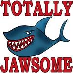 TOTALLY JAWSOME Shark Tshirt