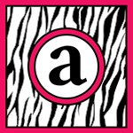 Wild Zebra Print Tote with Hot Pink Accents