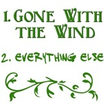 Number One Movie Gone With the Wind