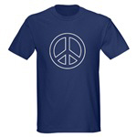 Peace Sign in A Dozen Colors