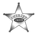 Sheriff's Badge No Sharp Points!