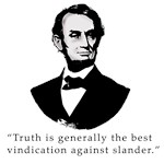 Lincoln Quote About Truth on T-shirts and Gifts