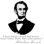 Abraham Lincoln Mercy Quotation