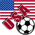 World Soccer USA Team T-shirts