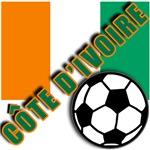 World Soccer IVORY COAST Team T-shirts