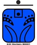 BLUE Rhythmic MONKEY