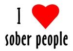 I Love [heart] Sober People