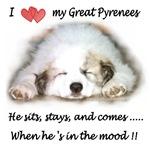 Great Pyrenees Mood