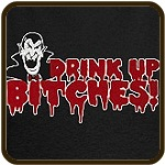 Dracula Drink up Bitches Halloween