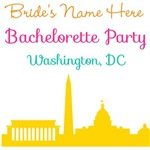 Personalized DC Bachelorette Party