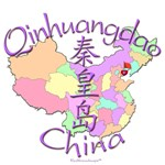 Qinhuangdao China Map