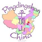 Pingdingshan Color Map, China