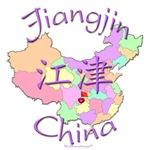 Jiangjin Color Map, China
