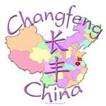 Changfeng China Color Map