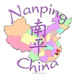 Nanping China Color Map