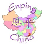 Enping China Color Map
